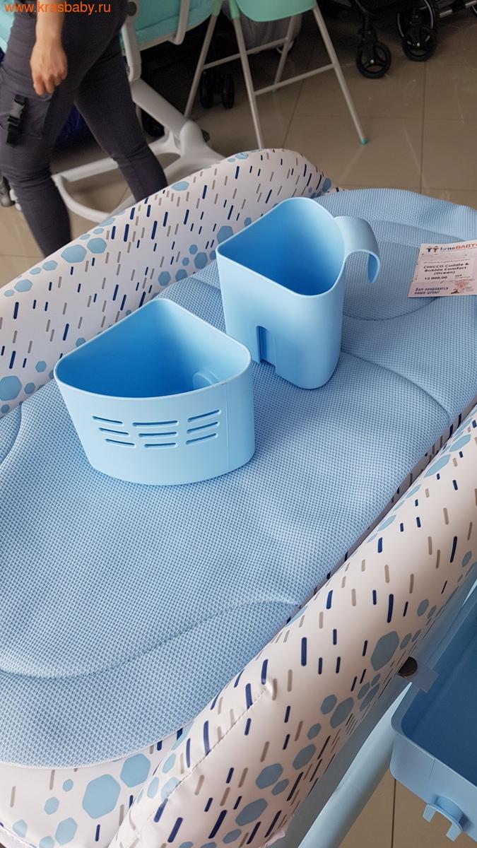 Пеленальный столик CHICCO с ванночкой Cuddle & Bubble Comfort {Ocean} (фото, вид 13)