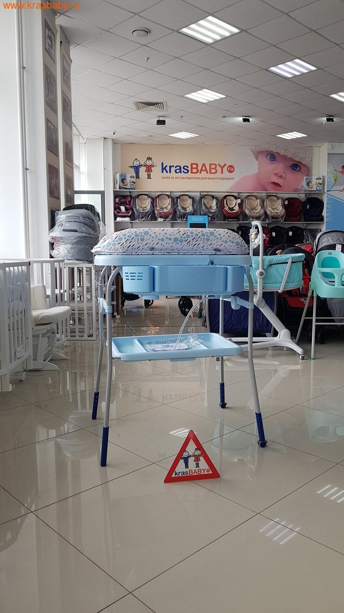 Пеленальный столик CHICCO с ванночкой Cuddle & Bubble Comfort {Ocean} (фото, вид 5)