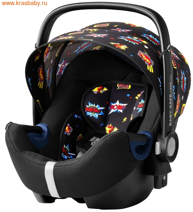 Автокресло BRITAX ROEMER Baby-Safe 2 i-Size + база FLEX Comic Fun (фото, вид 1)