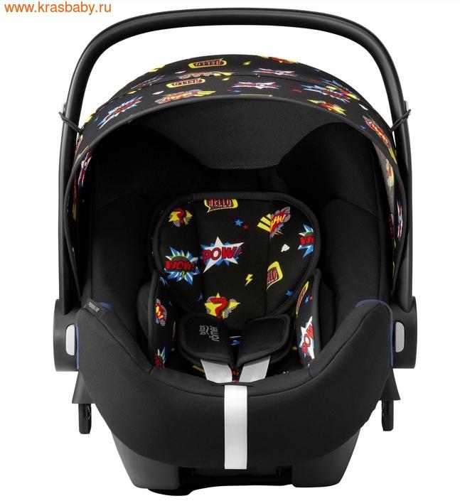 Автокресло BRITAX ROEMER Baby-Safe 2 i-Size + база FLEX Comic Fun (фото, вид 2)
