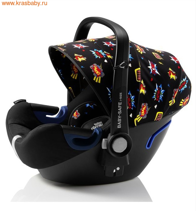 Автокресло BRITAX ROEMER Baby-Safe 2 i-Size + база FLEX Comic Fun (фото, вид 3)