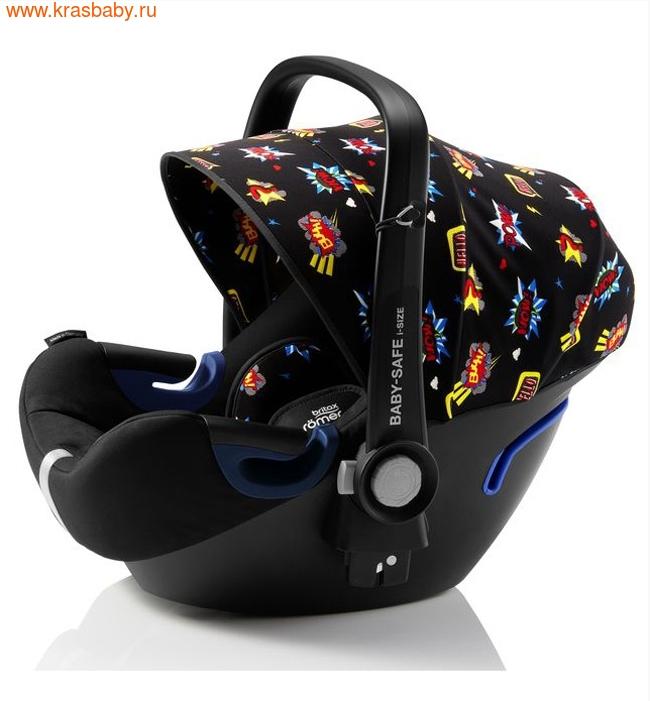 Автокресло BRITAX ROEMER Baby-Safe 2 i-Size + база FLEX Comic Fun (фото, вид 3)