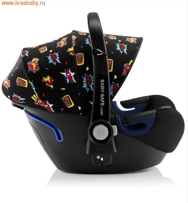 Автокресло BRITAX ROEMER Baby-Safe 2 i-Size + база FLEX Comic Fun (фото, вид 4)