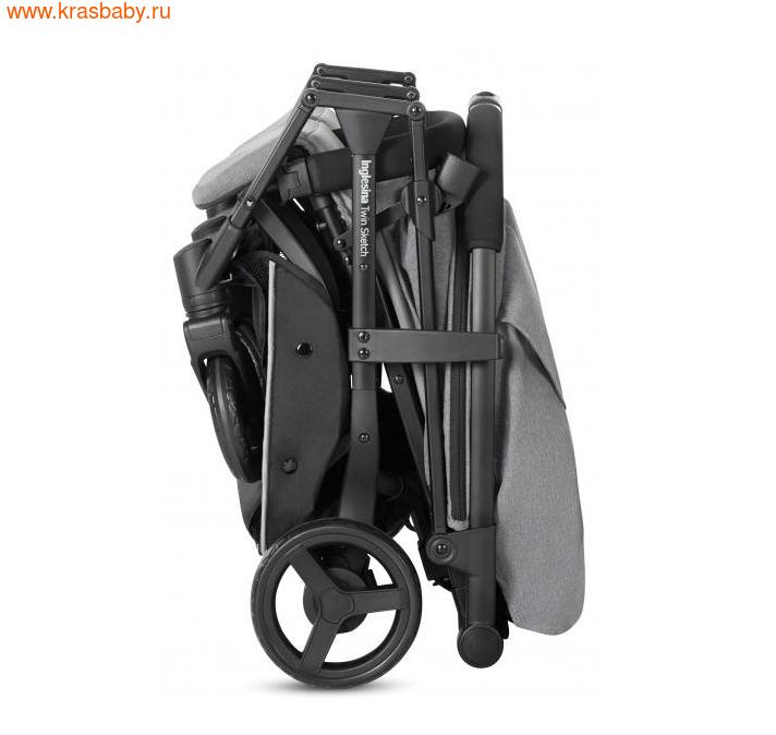Inglesina прогулочная коляска для двойни Twin Sketch (12,5 кг) (фото, вид 4)