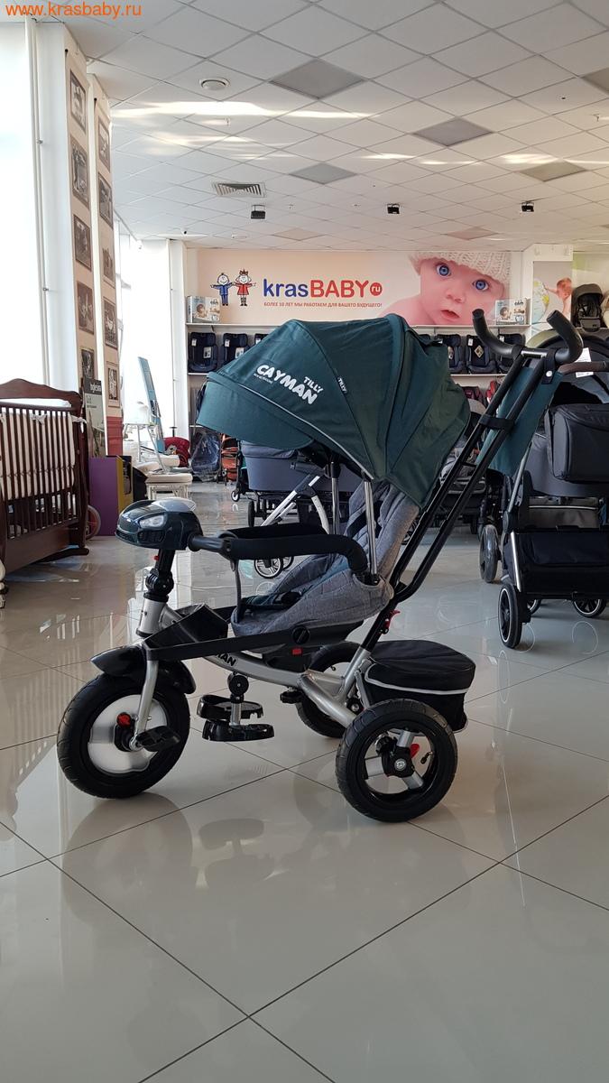 Велосипед Baby Tilly трехколесный CAYMAN T-381 с поворотным сидением и наклоном спинки (фото, вид 30)
