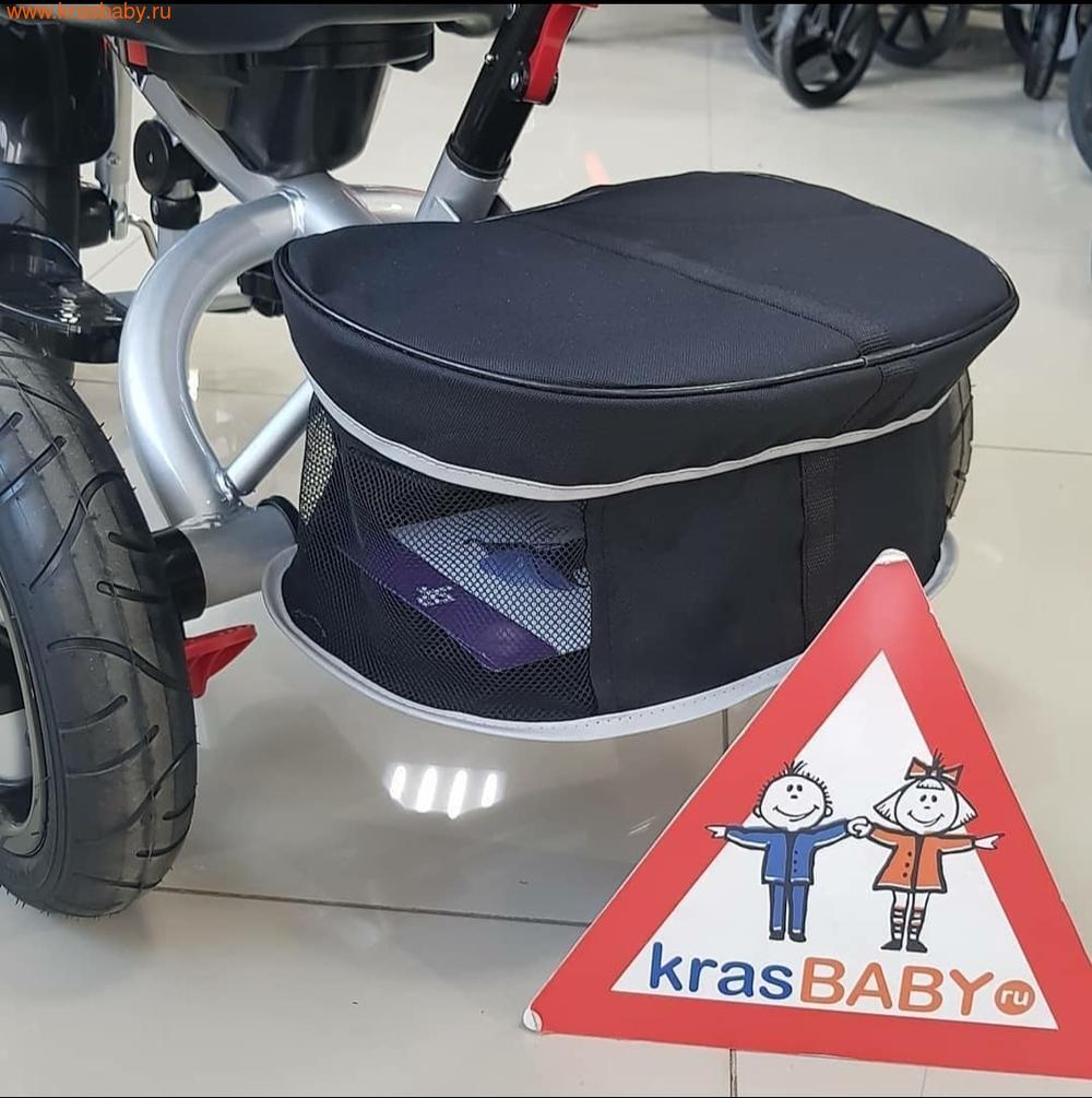 Велосипед Baby Tilly трехколесный CAYMAN T-381 с поворотным сидением и наклоном спинки (фото, вид 33)
