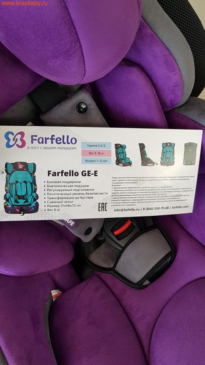 Автокресло FARFELLO GE-E (9-36 кг) (фото, вид 3)