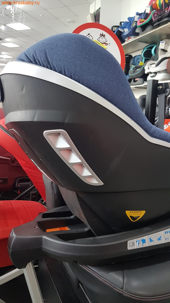 Автокресло WELLDON Safe Pod Fix i-Size (0-18 кг) (фото, вид 6)