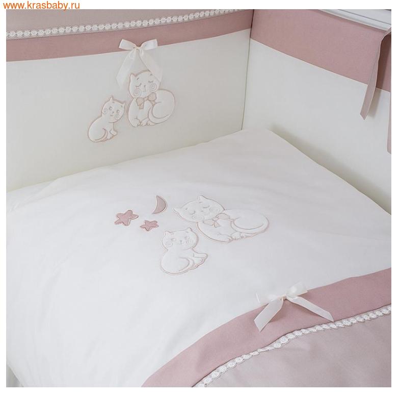 Комплект постельного белья PERINA 6 ПРЕДМЕТОВ КОТЯТА КАРАМЕЛЬ (КТ6-01.2) (фото, вид 1)