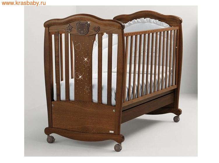 Кроватка MIBB MAGIC NOCE ANTICO, ТЕМНЫЙ ОРЕХ (фото, вид 13)