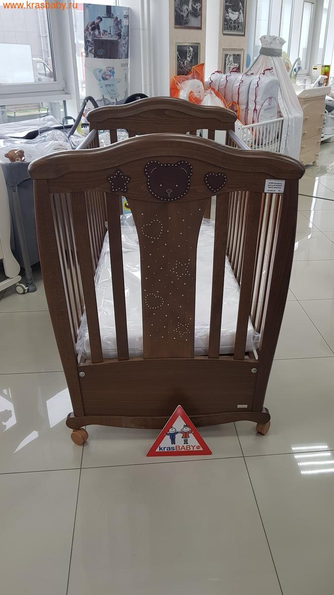 Кроватка MIBB MAGIC NOCE ANTICO, ТЕМНЫЙ ОРЕХ (фото, вид 1)