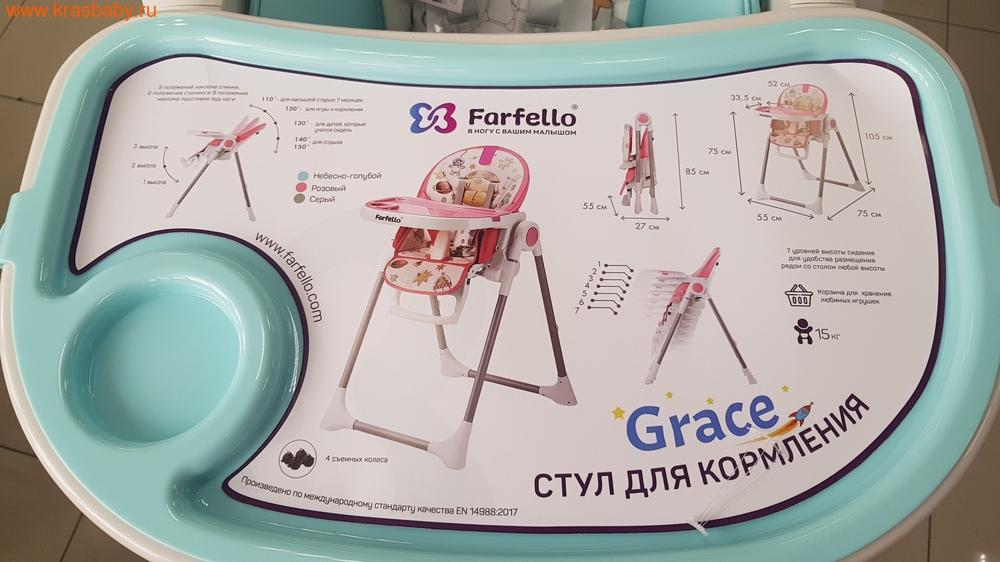 Стульчик для кормления FARFELLO Grace (фото, вид 6)
