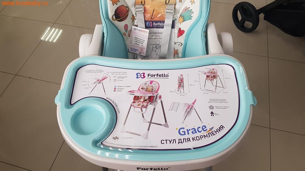 Стульчик для кормления FARFELLO Grace (фото, вид 7)