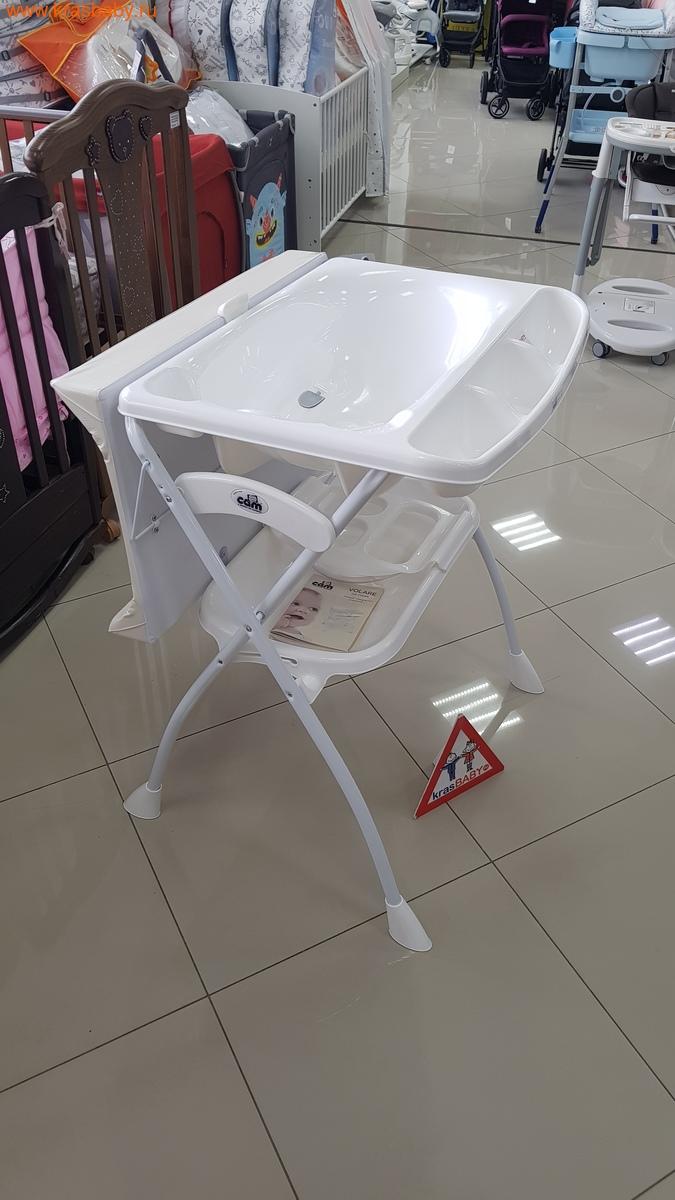 Пеленальный столик CAM Volare с ванночкой (фото, вид 5)