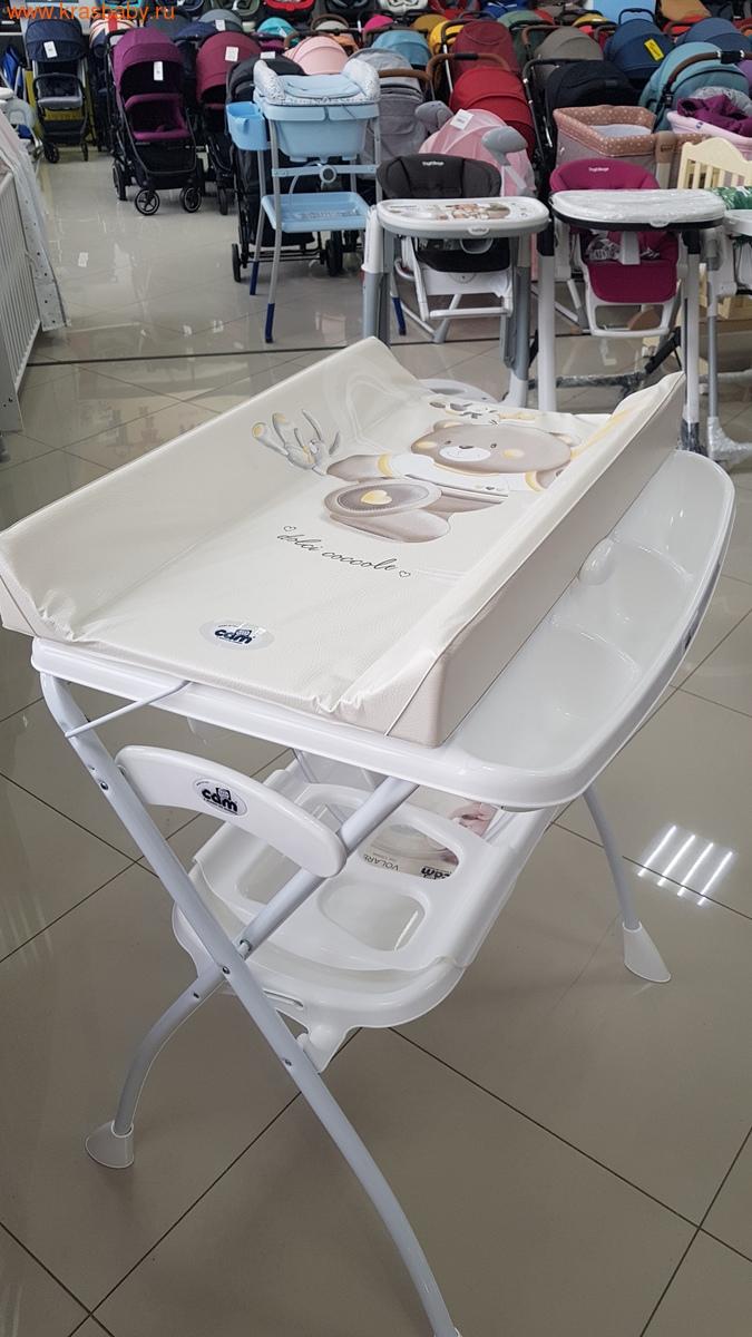 Пеленальный столик CAM Volare с ванночкой (фото, вид 9)