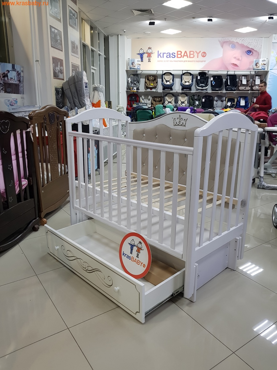 Кроватка Кедр Emily 4 (фото, вид 1)