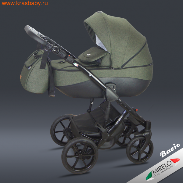 Коляска для новорожденного MIRELO BACIO ETNA 3 В 1 (фото, вид 1)