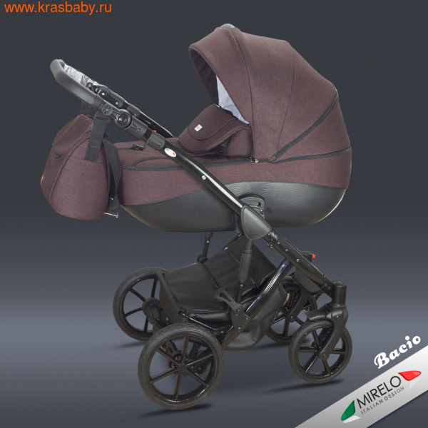 Коляска для новорожденного MIRELO BACIO ETNA 3 В 1 (фото, вид 5)