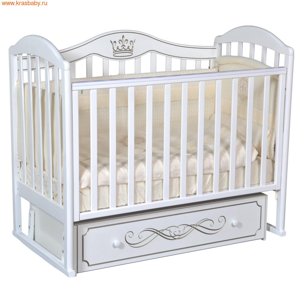 Кроватка Кедр EMILY 3 (фото, вид 3)