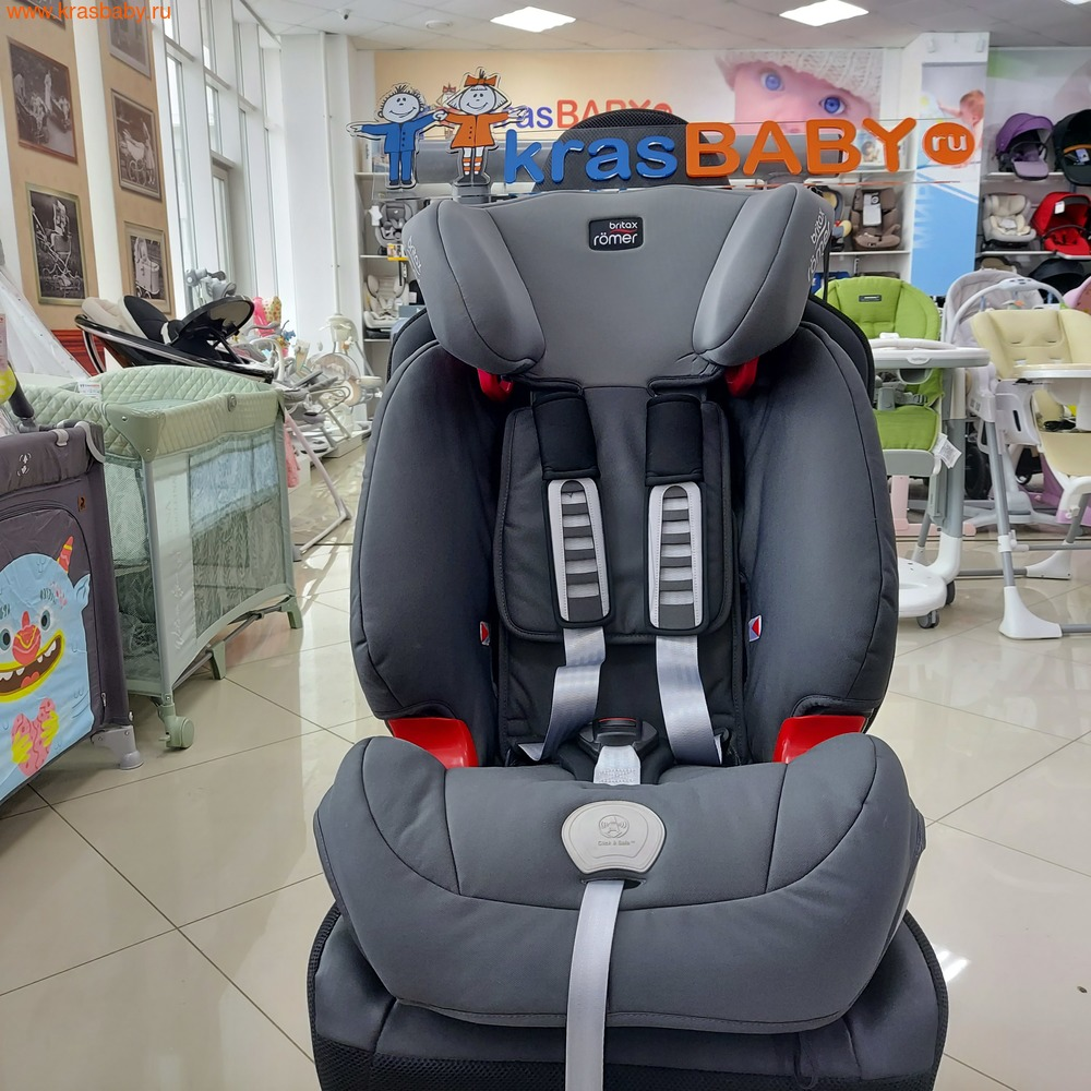 Автокресло BRITAX ROEMER Evolva 1-2-3 plus (9-36 кг) (фото, вид 4)