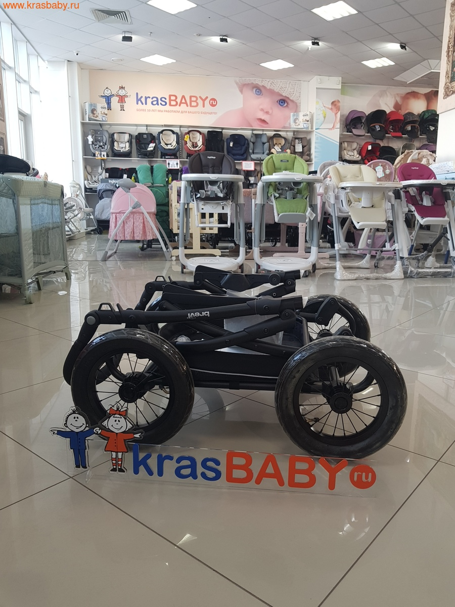 Коляска для новорожденного BREVI Rider (фото, вид 2)