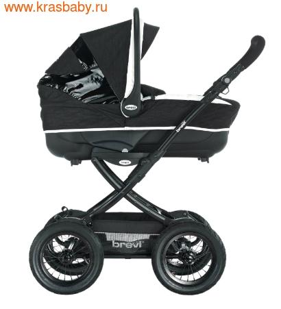 Коляска для новорожденного BREVI Rider (фото, вид 5)