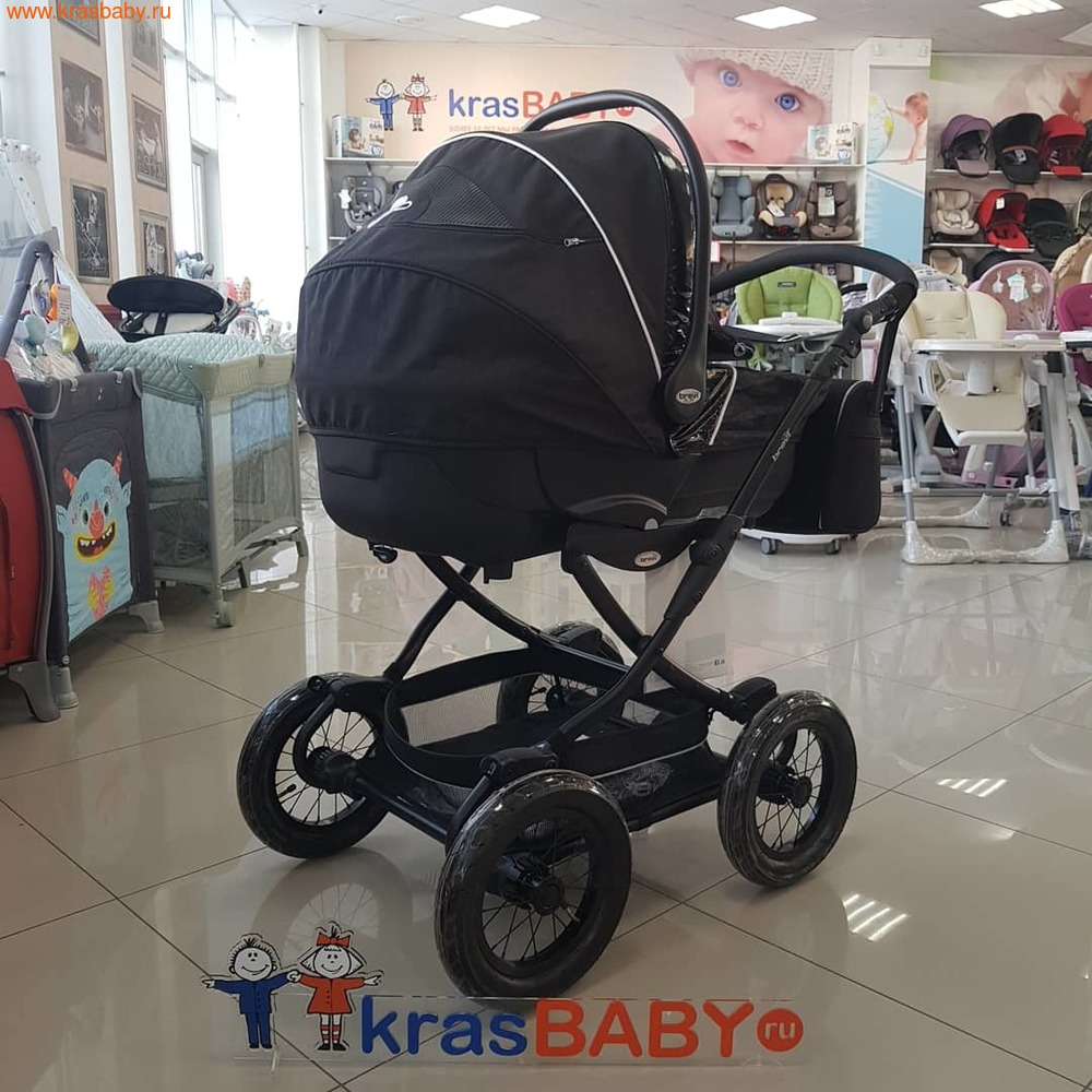 Коляска для новорожденного BREVI Rider (фото, вид 9)