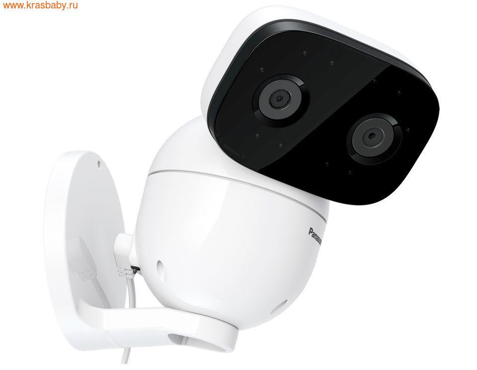 Видеоняня PANASONIC Цифровая видеоняня KX-HN3001RUW (фото, вид 1)