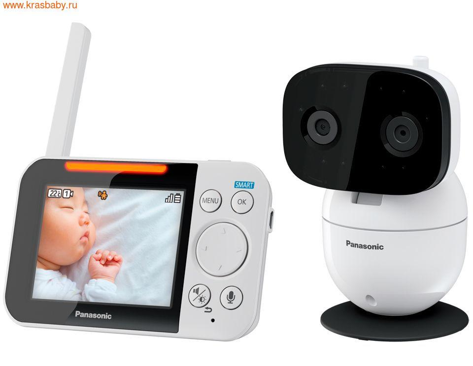 Видеоняня PANASONIC Цифровая видеоняня KX-HN3001RUW (фото, вид 2)