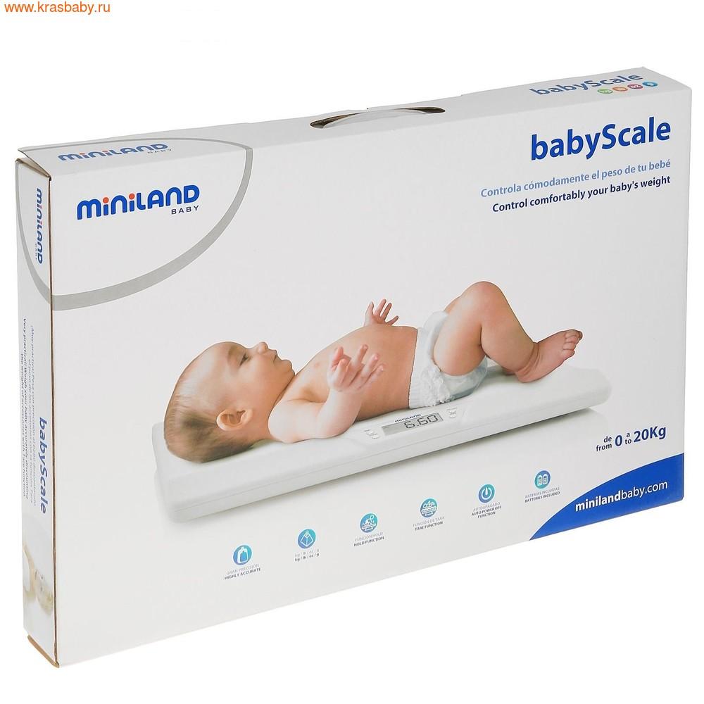 Весы электронные MINILAND электронные детские весы BabyScale (фото, вид 2)