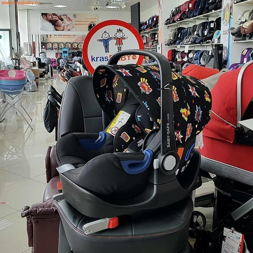 Автокресло BRITAX ROEMER Baby-Safe 2 i-Size + база FLEX Comic Fun (фото, вид 9)