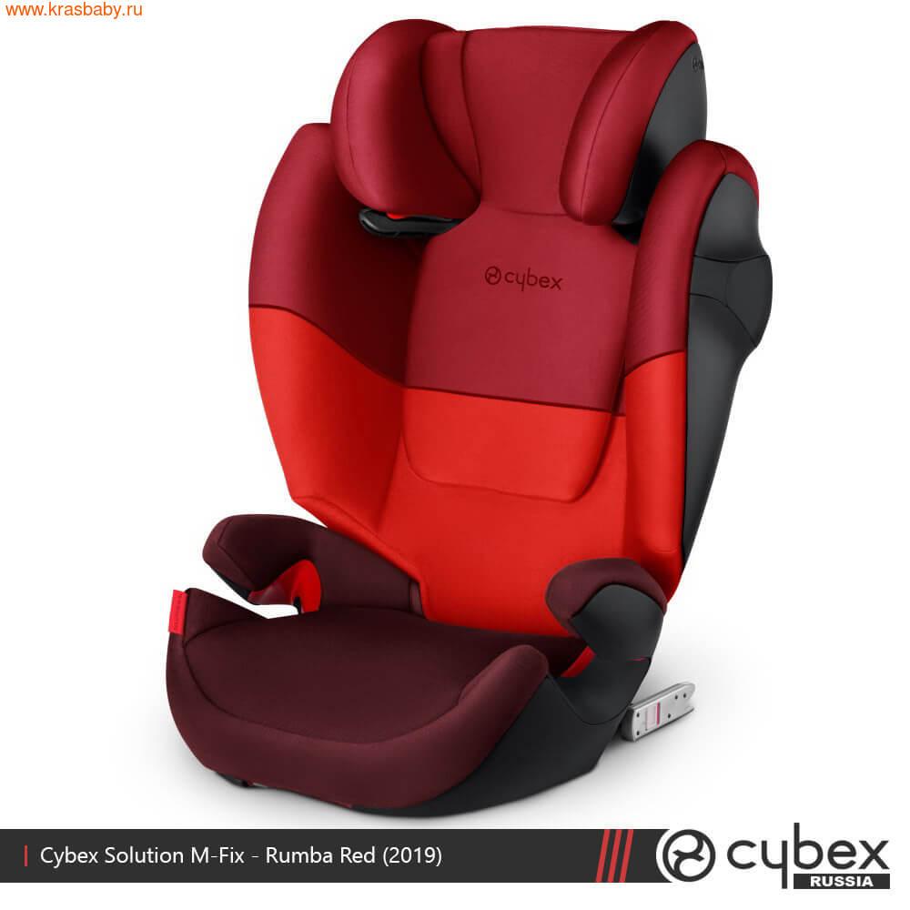 Автокресло CYBEX Solution M-Fix SL (15-36 кг) (фото, вид 7)