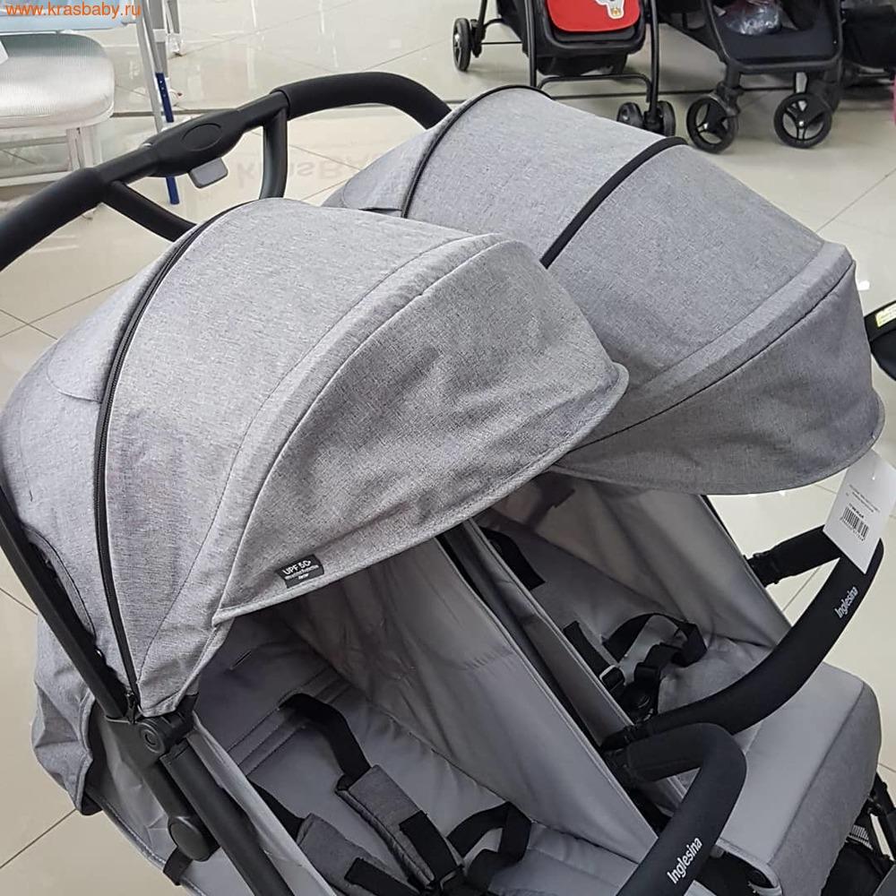 Inglesina прогулочная коляска для двойни Twin Sketch (12,5 кг) (фото, вид 6)