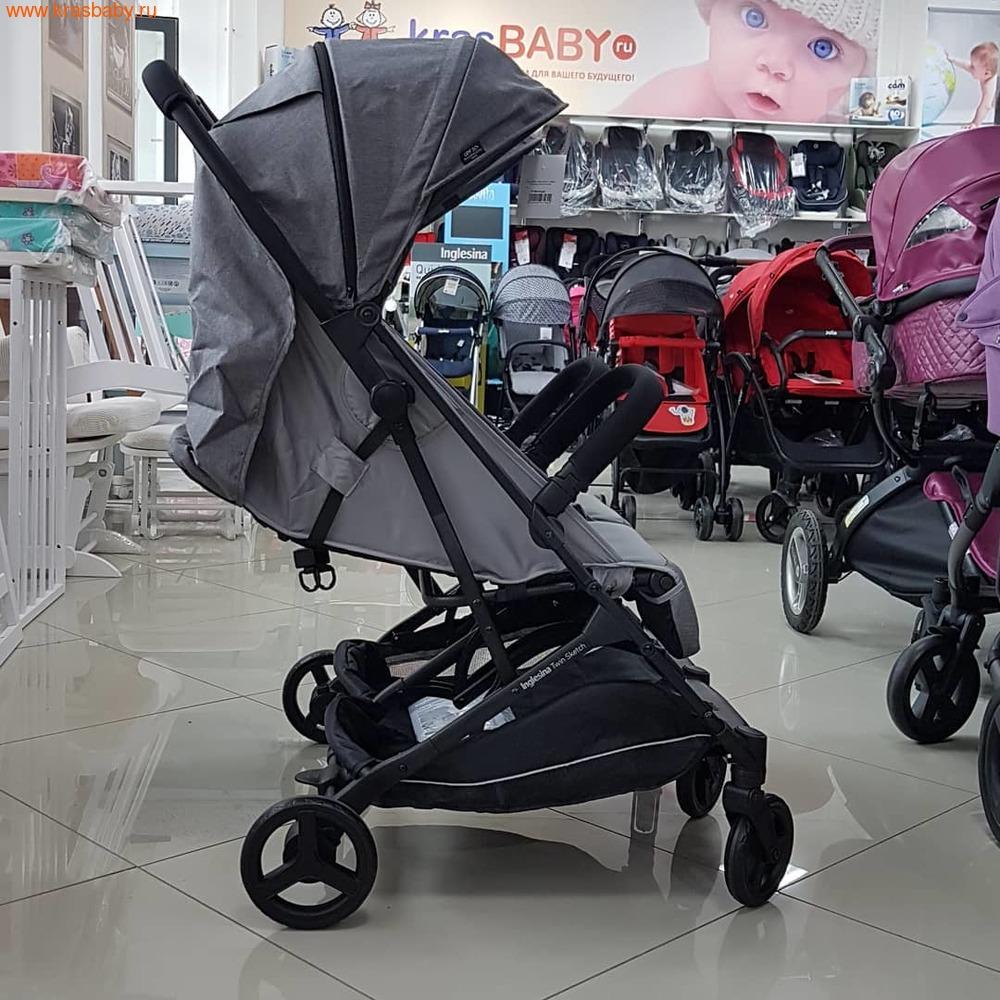 Inglesina прогулочная коляска для двойни Twin Sketch (12,5 кг) (фото, вид 10)
