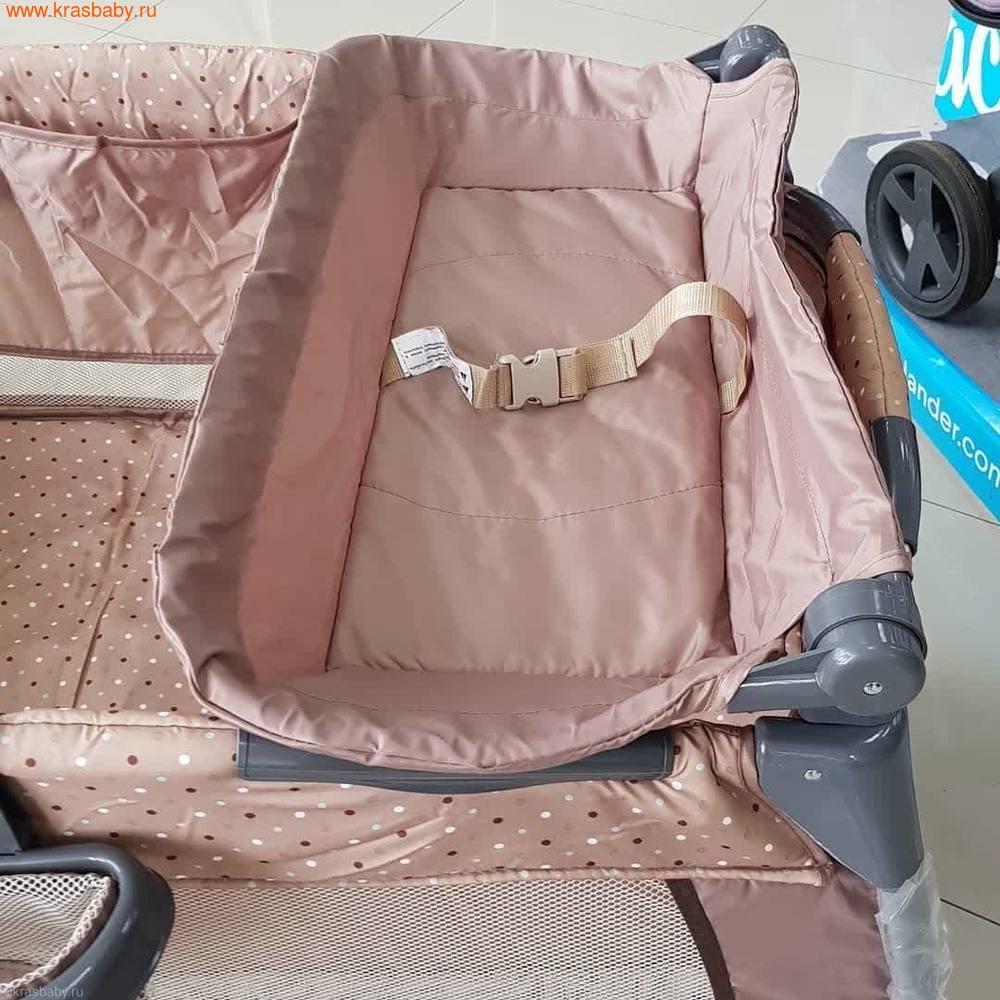 Манеж-кровать Selby 216, бежевый (фото, вид 10)