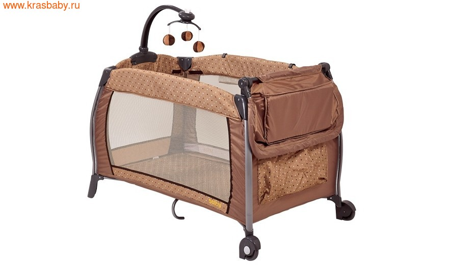 Манеж-кровать Selby 216, бежевый (фото, вид 14)