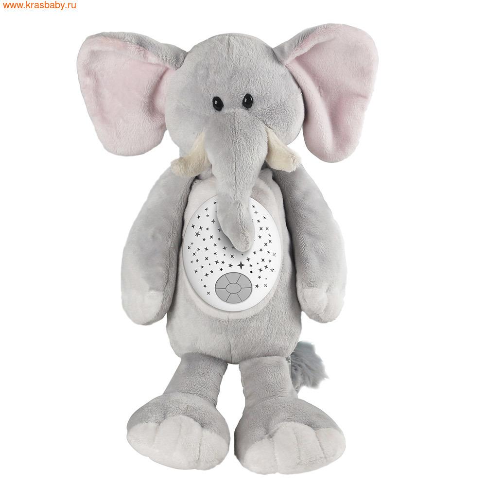 """игрушка-проектор PITUSO Мягкая игрушка-проектор Pituso """"Слоник"""" """"Мишка"""" """"Бегемотик"""" (фото, вид 3)"""