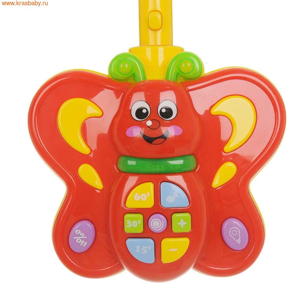 Баюшка Музыкальный мобиль Зоопарк Бабочка (фото, вид 2)