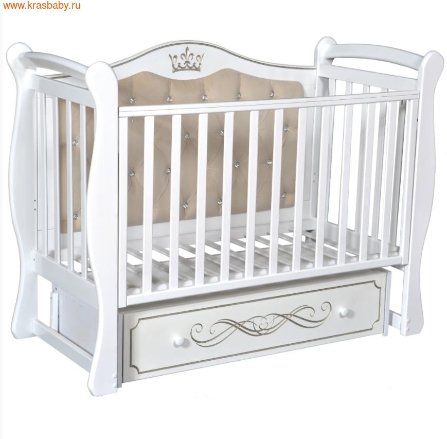 Кроватка Кедр OLIVIA 1 (фото, вид 3)