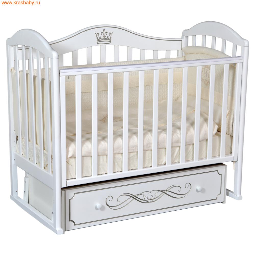 Кроватка Кедр EMILY 2 (фото, вид 3)