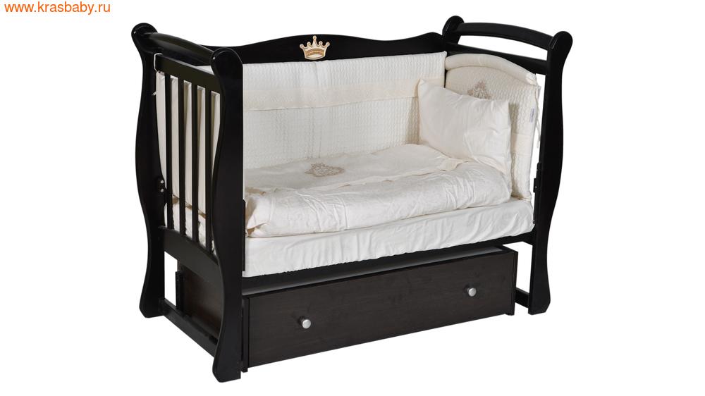 Кроватка Кедр Viola 1 (фото, вид 3)