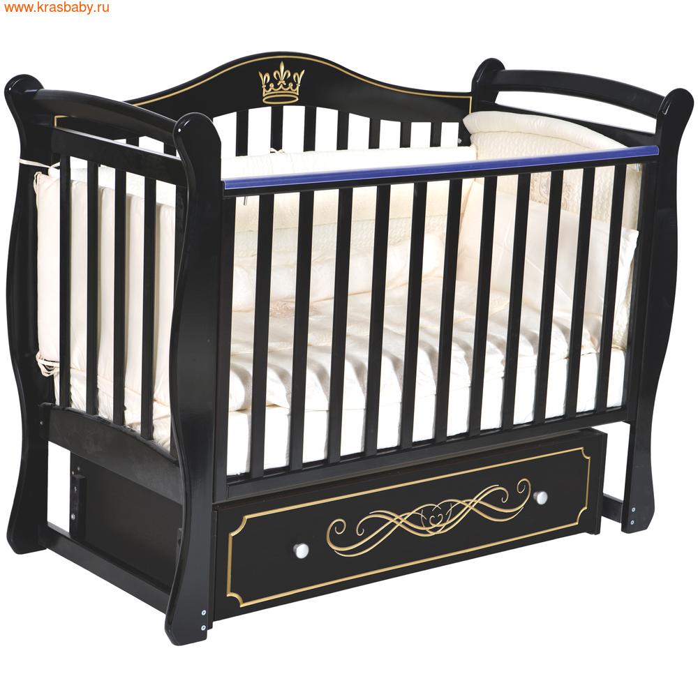 Кроватка Кедр Bella 1 (фото, вид 3)