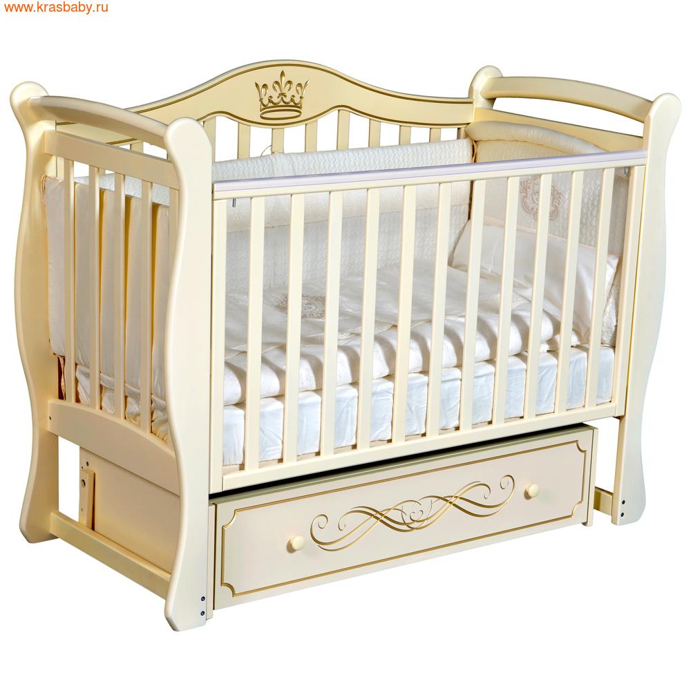 Кроватка Кедр Grace 1 (фото, вид 2)