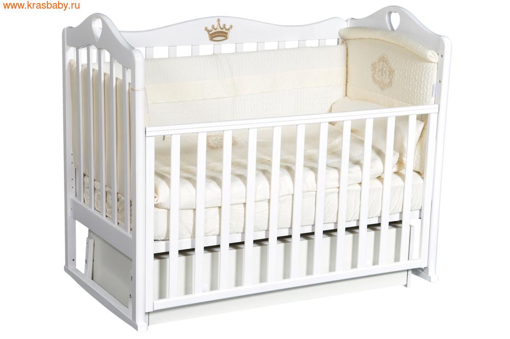 Кроватка Кедр KAROLINA 7 (фото, вид 3)