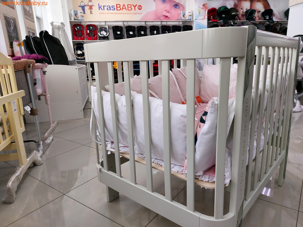 Кровать-трансформер HAPPY BABY MOMMY LOVE (фото, вид 14)
