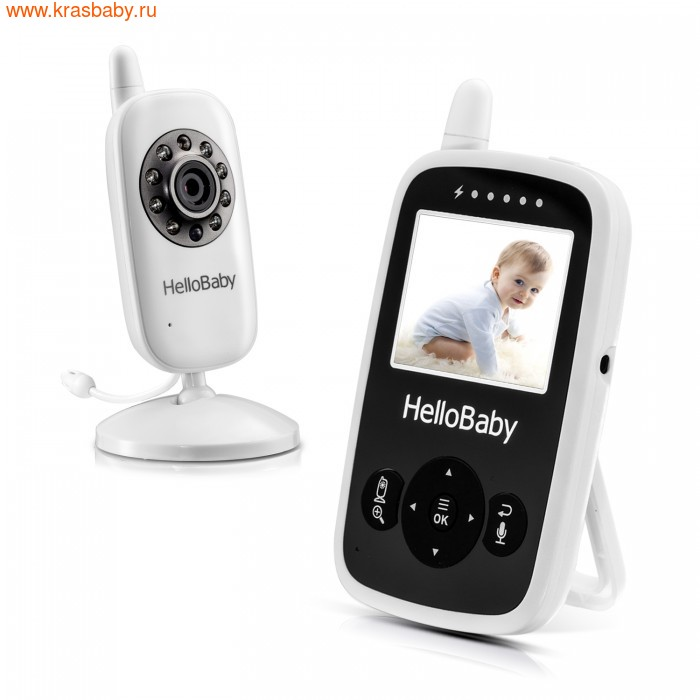 Видеоняня HelloBaby Цифровая видеоняня HelloBaby HB24 (фото, вид 1)