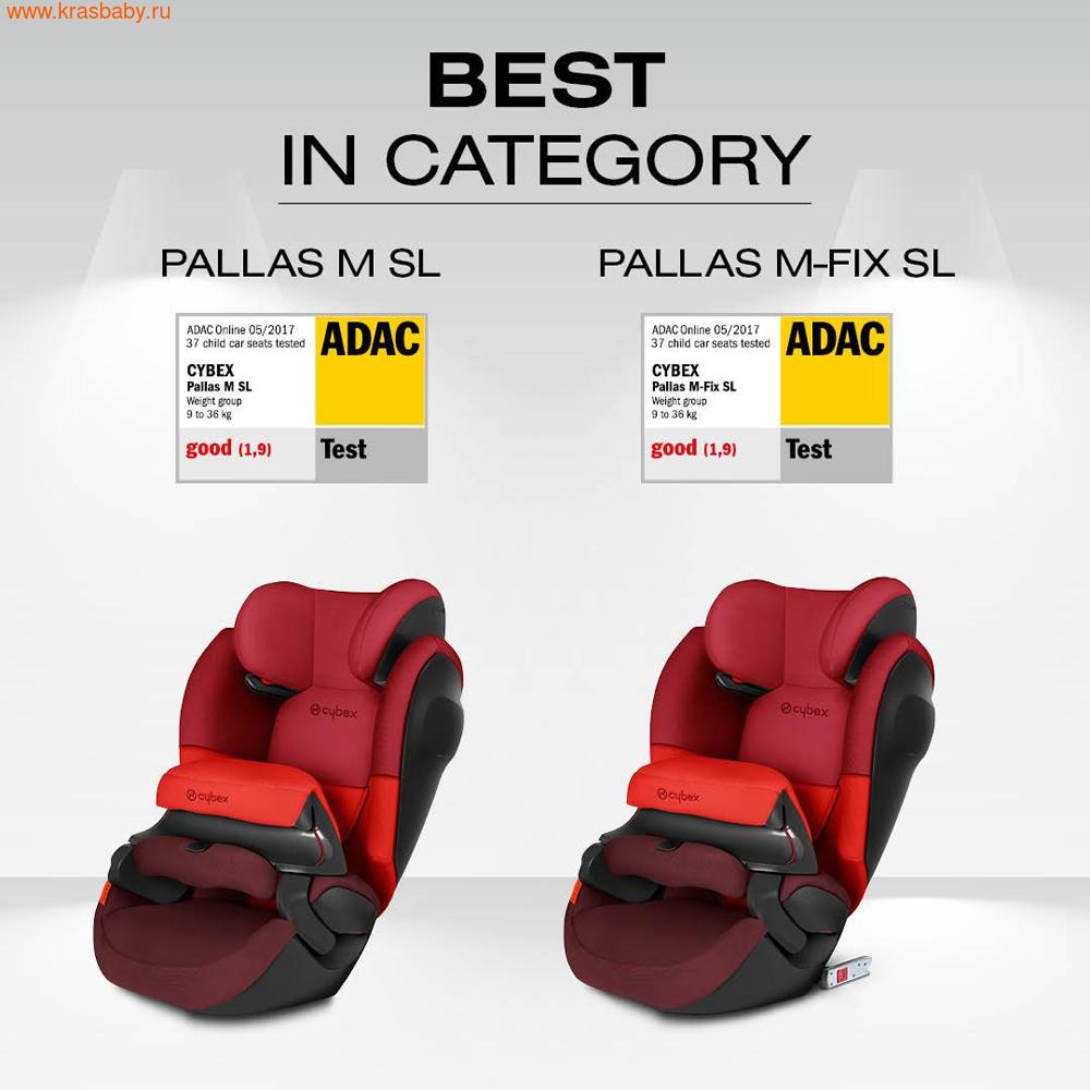 Автокресло CYBEX Pallas M-Fix SL (9-36 кг) (фото, вид 5)