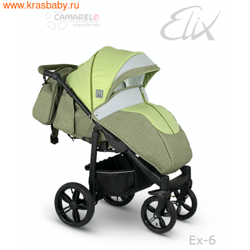 Camarelo прогулочная коляска ELIX (фото, вид 4)