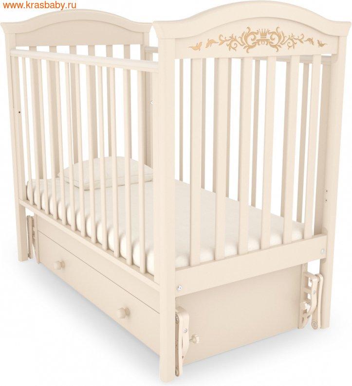 Кроватка GANDYLYAN Даниэль Люкс (фото, вид 11)