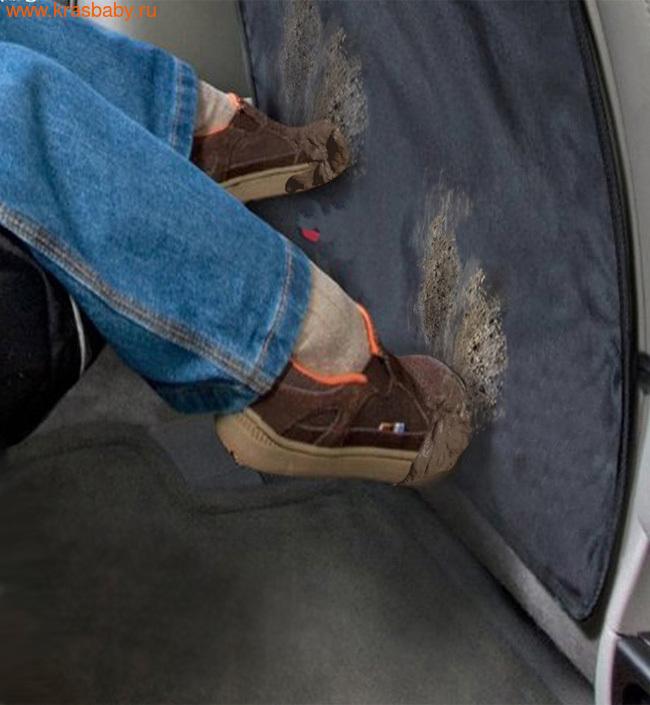 Аксессуары для авто BRITAX ROEMER Чехол для спинки переднего сиденья автомобиля Kick Mats черный (2 шт.) Артикул: 2000012236 (фото, вид 1)
